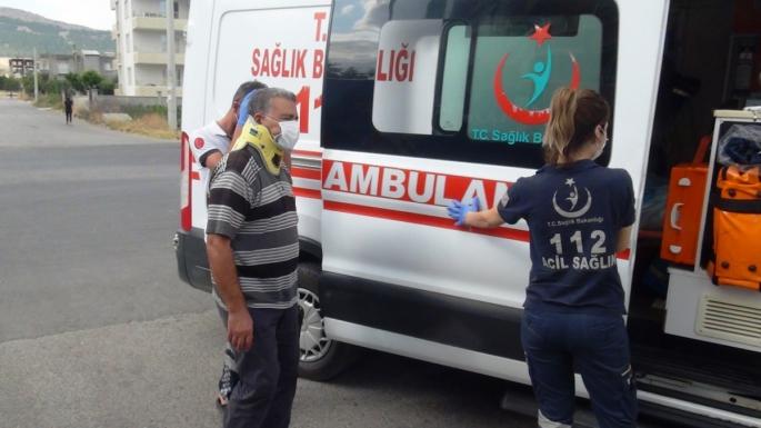 Adıyaman'da otomobil ile motosiklet çarpıştı: 2 yaralı
