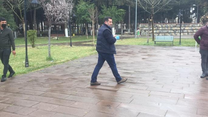 Adıyaman'da Parkta havaya rastgele ateş eden kişi kaçtı