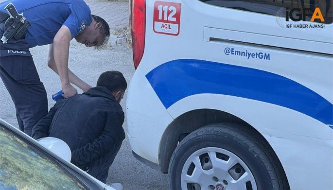 Adıyaman'da Polise Direnen Şahıslar Gözaltına Alındı