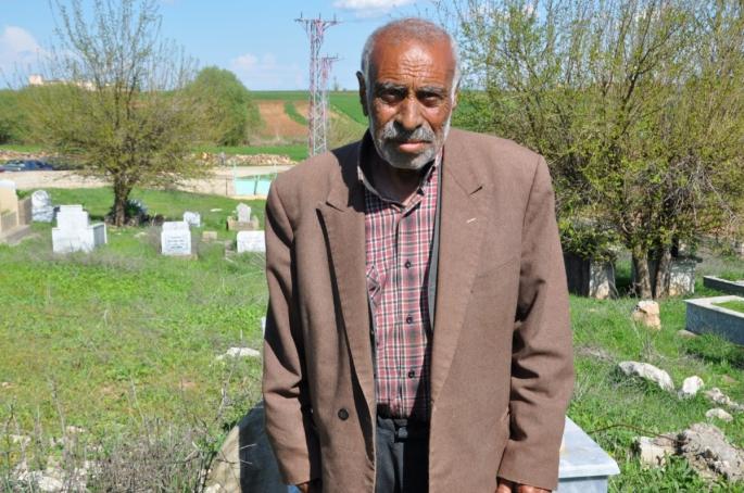 Adıyaman'da Yaşlı adam 72 yıldır kimliksiz yaşıyor