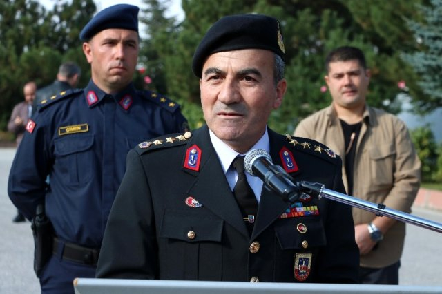 Adıyaman İl Jandarma Komutanı değişti