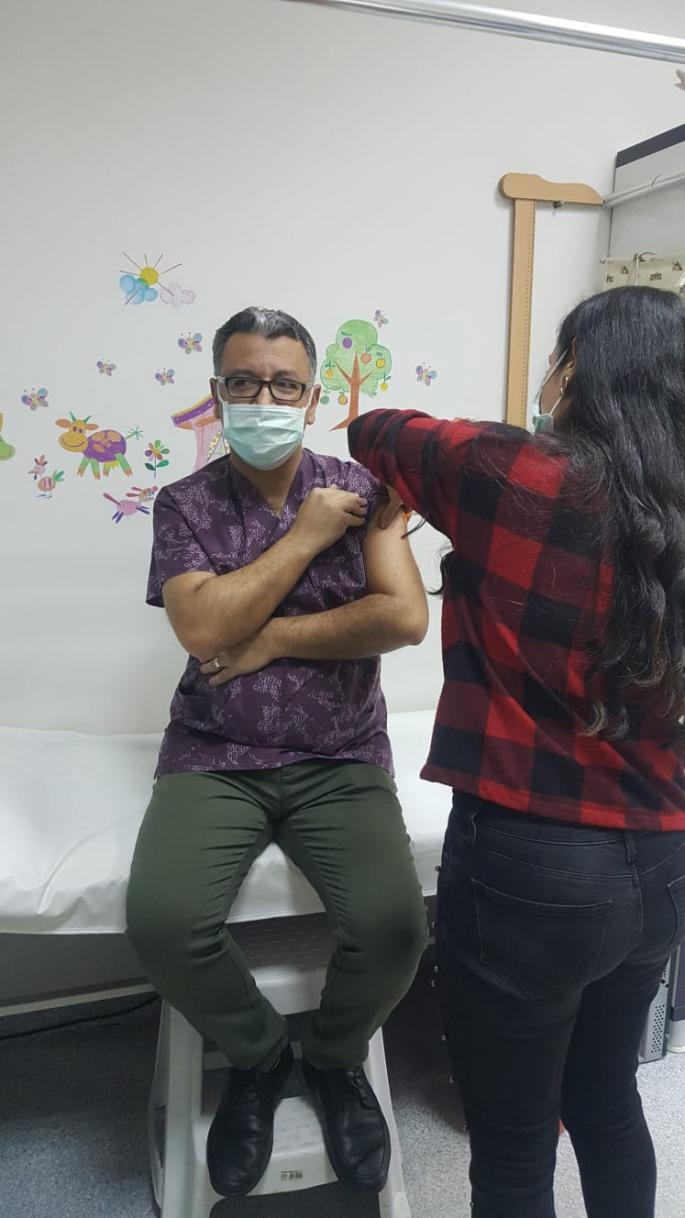 Başkan Altunbaş'tan aşı yaptırın tavsiyesi