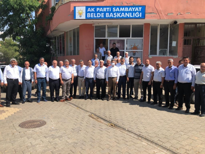 GMDK Başkanı Av. Ahmet Aydın'dan Şambayat'a Çifte Müjde