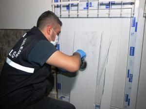 Adıyaman'da hırsızlar girdikleri evden 15 bin lira çaldı
