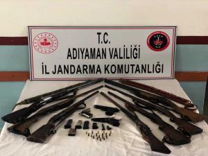 Adıyaman'da Jandarma'dan Silah Operasyonu