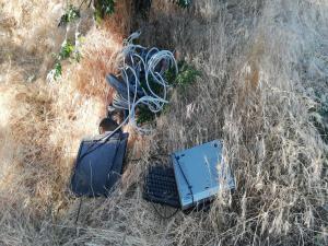 Adıyaman'da Kablo Hırsızı Suçüstü Yakalandı