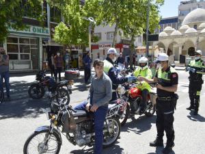 Adıyaman'da Motosiklet Denetimleri Sıkılaştırıldı