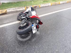 Adıyaman'da Motosiklet Kazası; 2 Yaralı
