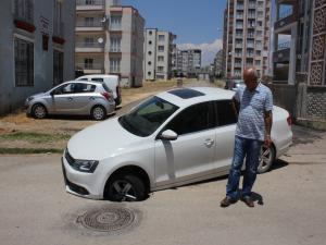 Adıyaman'da Otomobil Sürücüsü Şok Geçirdi
