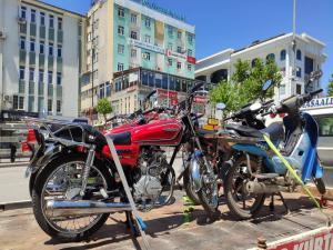 Adıyaman'da Polis ekiplerinden motosiklet denetimi