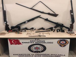 Adıyaman'da Silah Kaçakçılığı Operasyonu