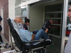 Adıyaman'da Takla Atan Motosiklet Sürücüsü Yaralandı