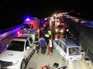 Adıyaman'da Zincirleme Kaza: 11 Yaralı