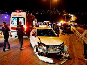 Adıyaman'da Zincirleme Kaza: 6 Yaralı