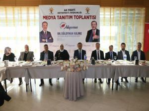 AK Parti Adayı Kılınç Projelerini Anlattı