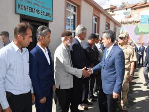 Çelikhan'da Köy Ve Mahalle Muhtarları Toplantısı