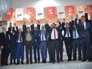 CHP Besni'de Başkan Adaylarını Tanıttı