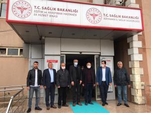 CHP'den Sağlık Çalışanlarına Tulum Desteği