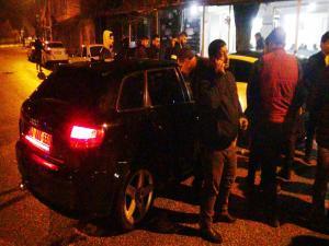 Dehşet Saçan Otomobilin Kaza Anı Güvenlik Kameralarına Yansıdı