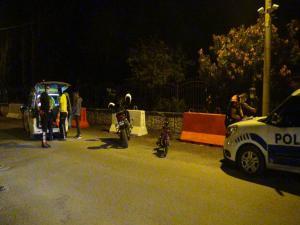 Dur İhtarına Uymayan Motosiklet Sürücüsü Yakalandı