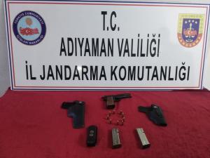 Gerger'de Silah Operasyonu; 1 Gözaltı