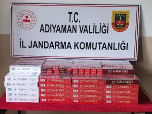 Jandarmadan Kaçak Sigara Operasyonu: 4 Gözaltı