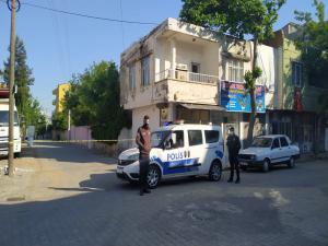 Kahta'da 2 Sokak Karantinaya Alındı