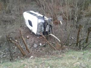 Kahta'da Yolcu Minibüsü Devrildi: 6 Yaralı