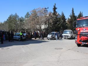 Kahta'da Zincirleme Kaza: 3 Yaralı