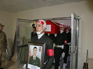 Şehit Piyade Onbaşı Çavuş Çelik'in Cenazesi Adıyaman'a Getirildi