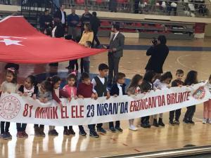 Sevgi Anaokulu Erzincan'da Adıyaman'ı Tanıttı