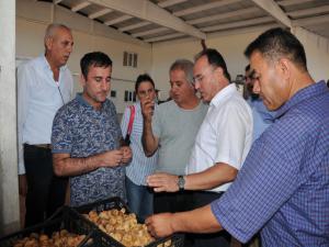 Tacikistan Tarım Bakanlığı Heyeti Adıyaman'da