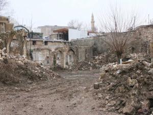 Tarihi Tuz Han'ın Restorasyonu Başladı