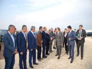 Vali, Müdürler Ve Yatırımcılar Samsat'a Çıkarma Yaptı