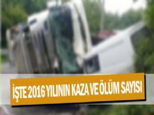 2016 Yılında Adıyaman'da Meydana Gelen Kazalar