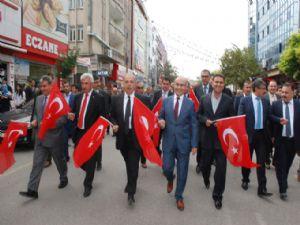 Cumhuriyet Bayramı Kutlaması Kortej Yürüyüşü İle Başladı
