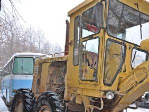 Belediye Aracının Camları Kırıldı