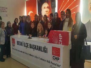 CHP Besni Kadın Kolları Kongresi Gerçekleşti