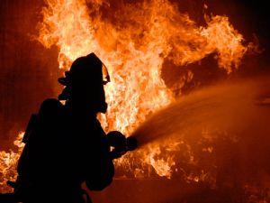 Besni Yeni Kentte Yangın Paniği