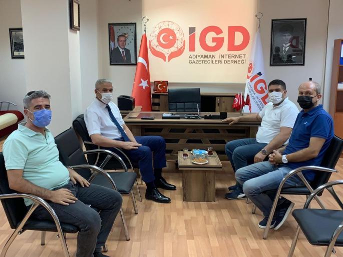 İl Emniyet Müdürü İbrahim Ergüder'den Adıyaman İGC'ye ziyaret