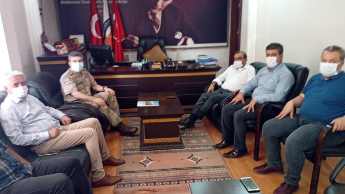 Jandarma Alay Komutanı'ndan AGC'ye Ziyaret