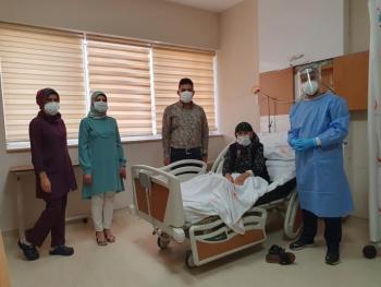 Adıyaman'da 104 yaşındaki kadın koronavirüsü yendi