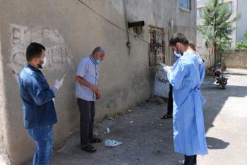 Adıyaman'da 61 ev karantinaya alındı