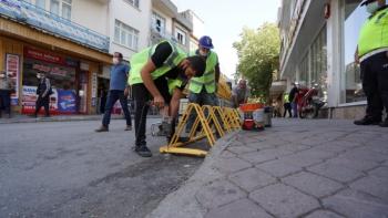 Adıyaman'da Bisiklet Durağı projesini hayata geçirildi