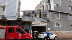 Adıyaman'da Havalandırma Boşluğuna Düşen İşçi Yaralandı