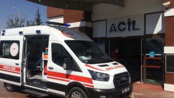 Adıyaman'da minibüs ile motosiklet çarpıştı: 2 yaralı