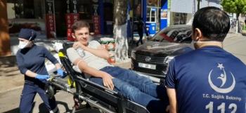 Adıyaman'da Motosiklet yaya çarptı: 2 yaralı
