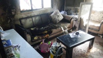 Adıyaman'da Yangın Faciası 1'i Ağır 2 Yaralı