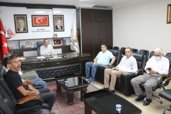 Adıyaman İGC Yönetiminden Dağtekin'e Ziyaret