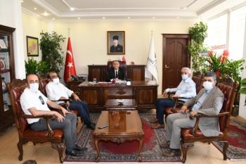 AGC'DEN VALİ ÇUHADAR'A ZİYARET